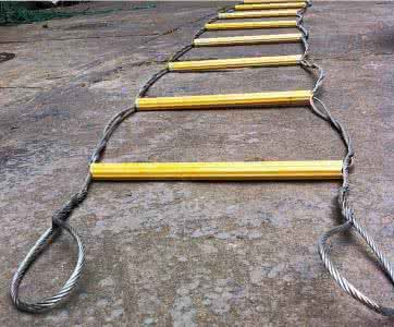 wire rope ladder