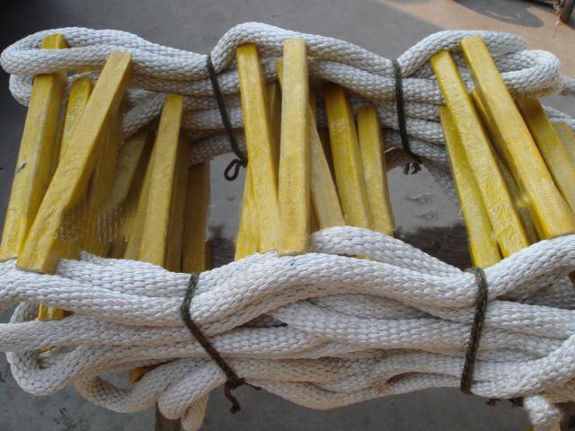 nylon braided wire rope ladder